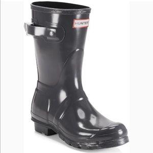 9b8a809fd992 NWOT HUNTER ORIGINAL SHORT RAIN BOOTS